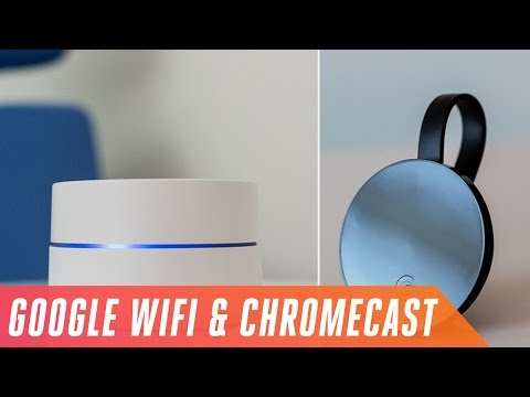 Google Wifi router and 4K-ready Chromecast Ultra first look