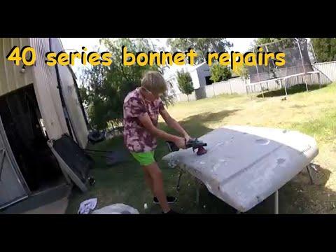 FJ40 BONNET REPAIR