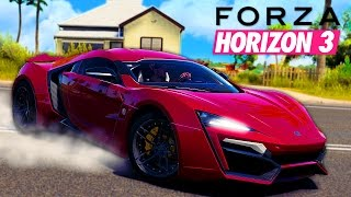 Forza Horizon Hypercars