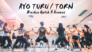 Download lagu ZASKIA GOTIK X AVAMAX - AYO TURU / TORN | FITNESS DANCE CHOREOGRAPHY | ZUMBA | DANCE WORKOUT