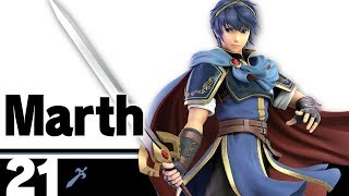 21: Marth - Super Smash Bros. Ultimate