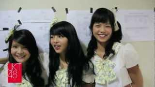 JKT48 live performance: AMI Awards - RCTI 04.07.2012
