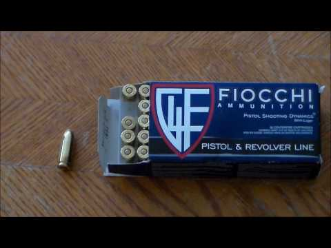 Fiocchi 9mm Ammo Review