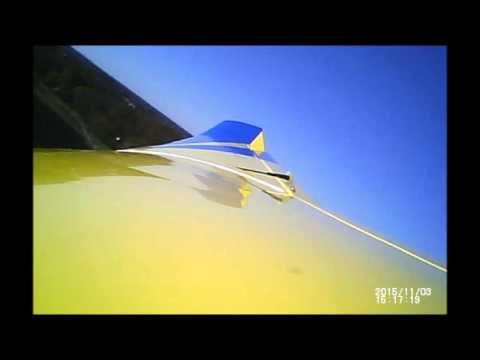 R/C Sailplane Wing Tip Flutter