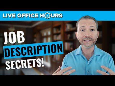How to Use Job Descriptions to Ace Your Interview: Live Offi