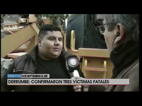 Vivo Tucumán estuvo en el lugar del derrumbe
