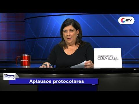 Aplausos protocolares SIN GUION con Rosa María Palacios