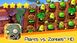 Plants vs  Zombies™ HD Adventure 2 ROOF 02 Walkthrough The zombies are coming! Recommend index five