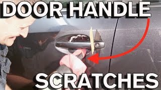 How to Remove Car Door Handle Scratches in 10 Min