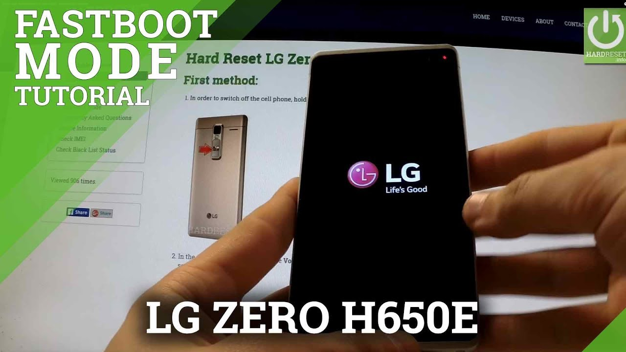 Fastboot Mode LG X Power - HardReset info