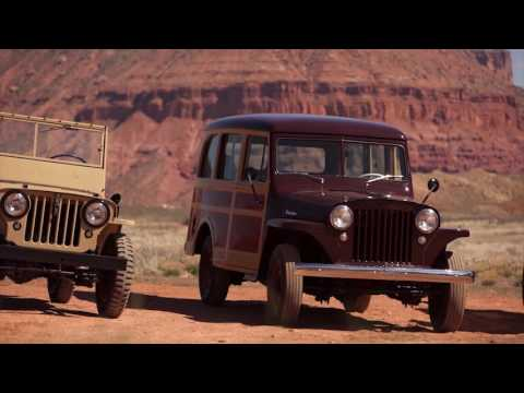 Jeep Moab 2016 - Jeep Historical Vehicles Willys Overland | AutoMotoTV