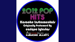 Tonight (Im Loving You) (Originally Performed By Enrique Iglesias Feat Ludacris) (Karaoke...