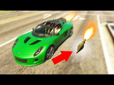 Can You Go FASTER Than A ROCKET In GTA 5?!