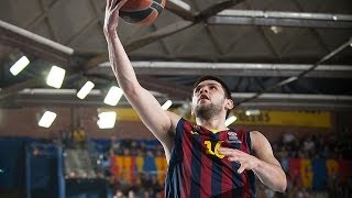 Playoffs Magic Moments: Alleyoop dunk by Kostas Papanikolaou, FC Barcelona