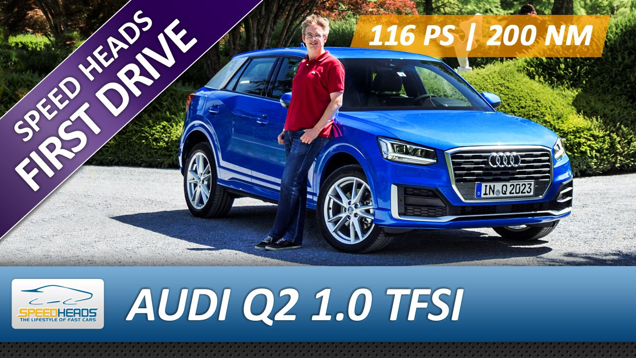 audi q2 test 116 ps 1 0 tfsi fahrbericht review. Black Bedroom Furniture Sets. Home Design Ideas