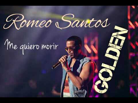 Romeo Santos-Me quiero morir (Audio) Golden