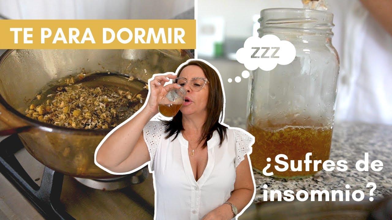REMEDIO Para DORMIR PROFUNDAMENTE | Infusion de manzanilla y lavanda | Adriana Vieira