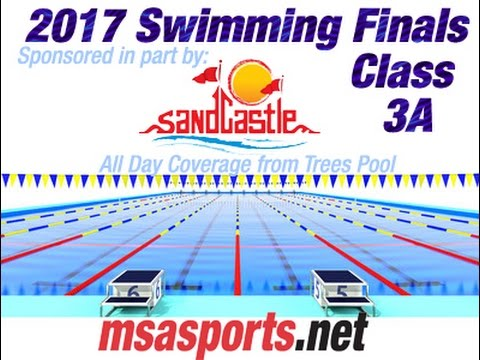 MSA Sports Spotlight - Sandcastle Presents:  3A WPIAL 2017 Swimming Finals @ Trees Pool  3/2/17