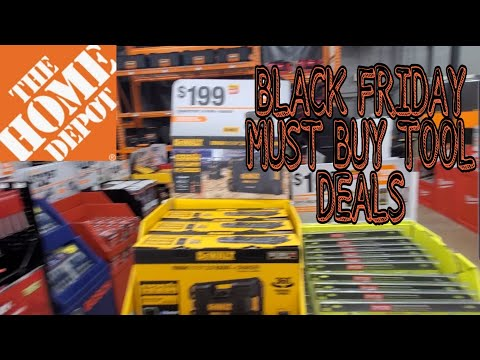 Home Depot LIVE!!! BLACK FRIDAY MUST BUY TOOL DEALS!!🌲...The Final Chapter