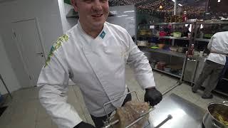 пастрами из говядины с хумусом домашним и чёрным лавашом от #СНовымШефом Антон Корнилов Бар Грелка