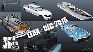 GTA 5 LEAK DLC 2016 - YACHT, LIMOUSINE ARMÉE, NEW APPART...