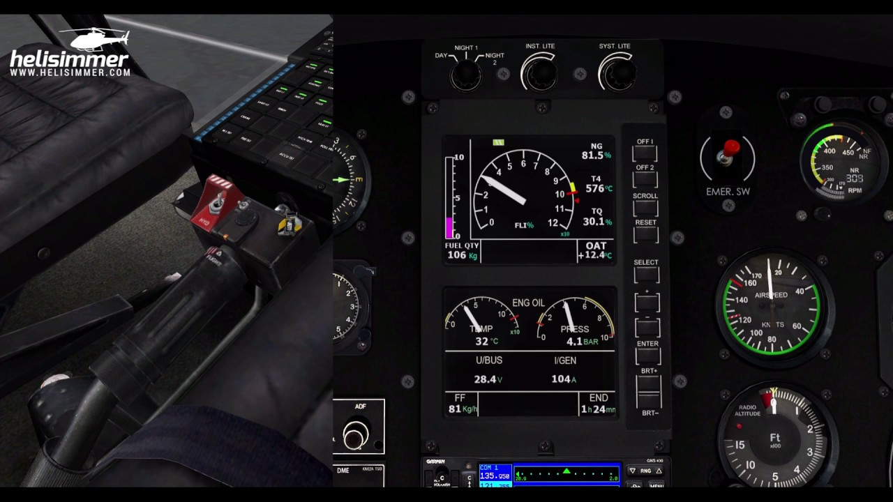 Helicopter controls • HeliSimmer com