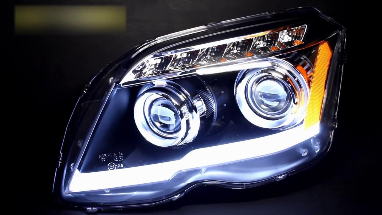 Тюнинг фары Mercedes-Benz GLK-Class X204 headlights