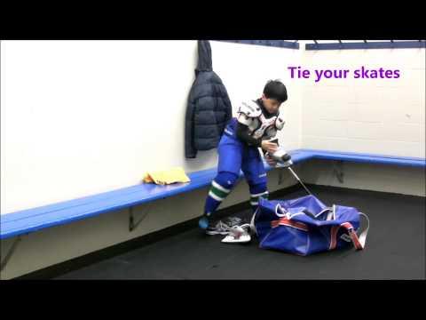 How To Wear Hockey Gear