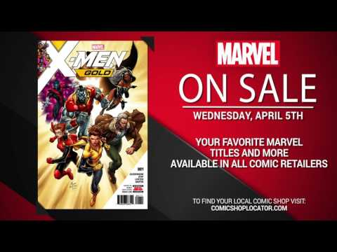 Marvel NOW! Titles for April 5th
