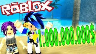 GANO 1.000.000.000$ LOOOL | TREASURE HUNT SIMULATOR | ROBLOX