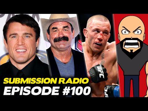 Submission Radio #100 Goldberg, Don Frye, Stipe, Tommy Toe Hold, Meltzer, Adam Hill + UFC Hidalgo