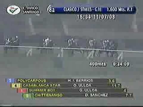 Raimundo Valdes C. Stakes 2008 - Casablanca Star
