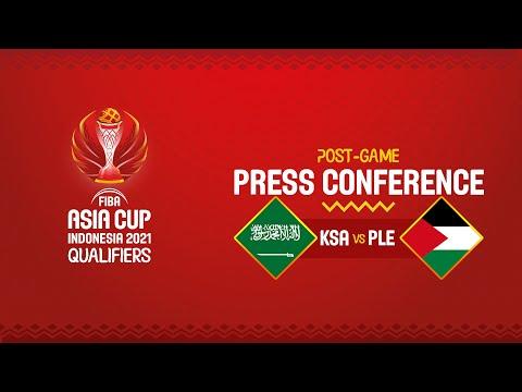 Saudi Arabia v Palestine - Press Conference | FIBA Asia Cup 2021 Qualifiers