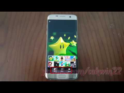 Samsung Galaxy S7 Edge : How to Create Pictures animation (Android Marshmallow)
