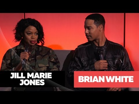 Brian White & Jill Marie Jones Talk About Their New  With Lenny Green