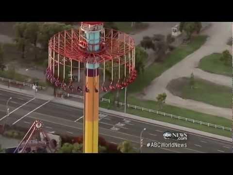 Amusement Park Ride Goes Awry | ABC World News Tonight | ABC News