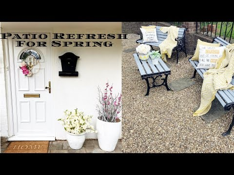 New: Home Decor- Patio Refresh For Spring
