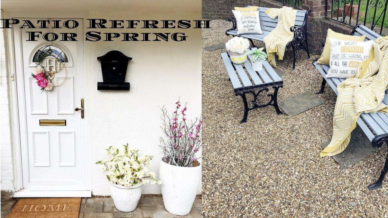 Home Decor Patio Refresh For Spring