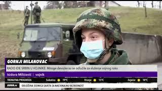 KURIR TV - Rado idu Srbi u vojnike