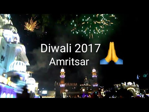 Diwali Celebration in Golden Temple, Amritsar(2017)