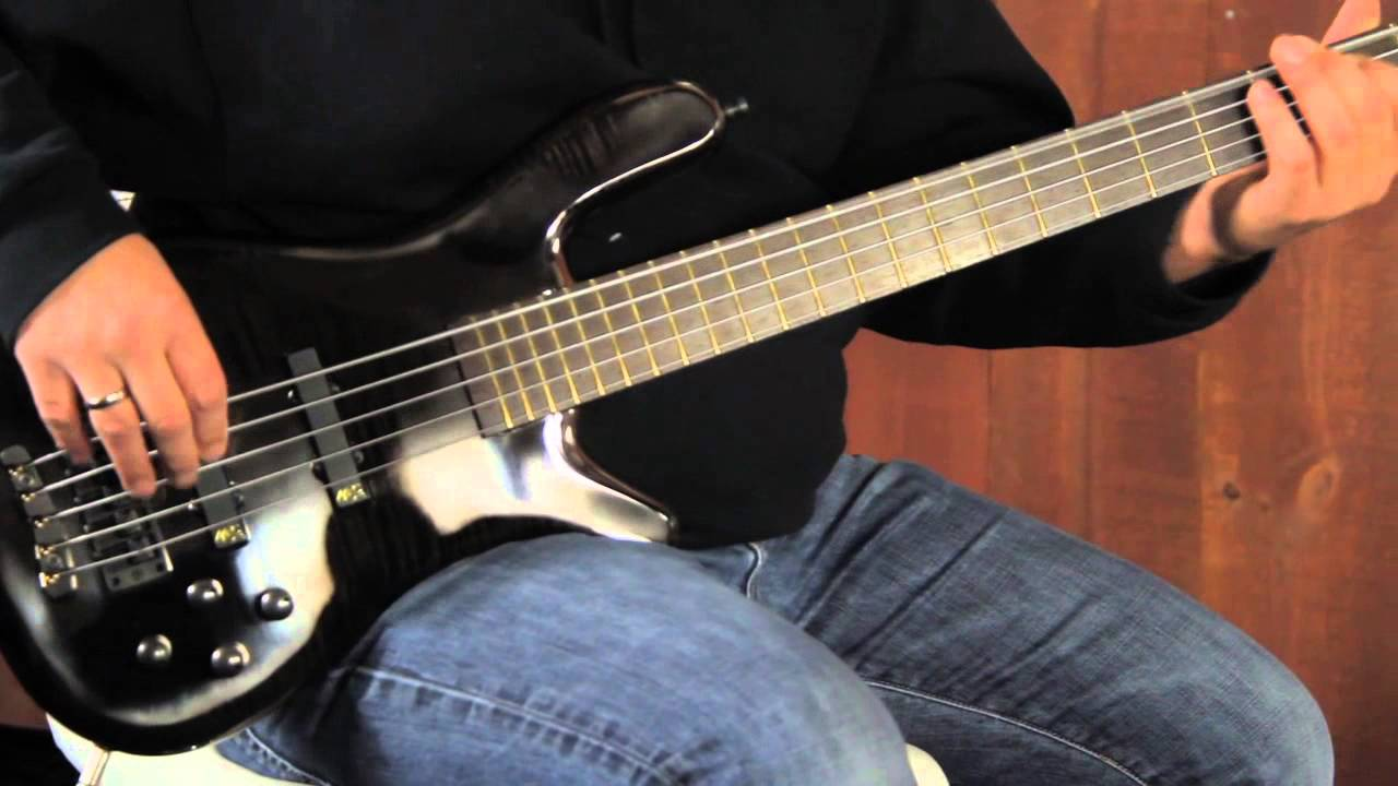 warwick custom shop streamer bass demo
