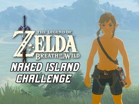 Naked Link Island Challenge - Legend of Zelda Breath of the Wild (Stranded on Eventide)