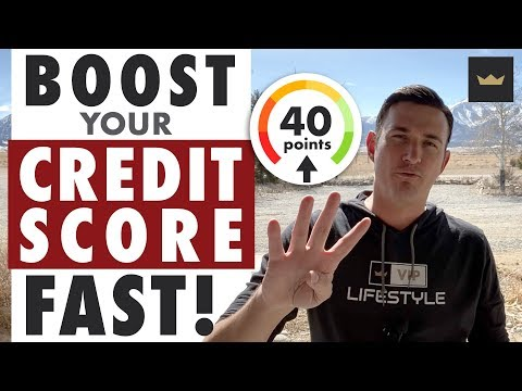 How To Increase Your Credit Score By 40 Points In 10 Days Or Less