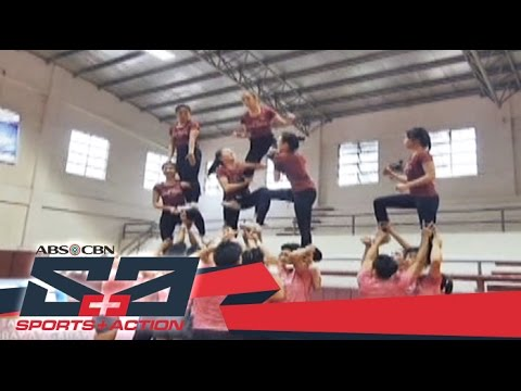 The Score: Preparing for the NCAA Season 92 Cheer dance Competition