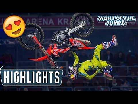 Freestyle Motocross Highlights - NIGHT of the JUMPs Krakow 2017