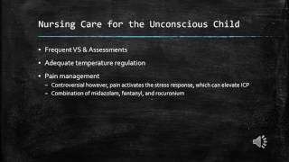 Pediatric Patients with Cerebral & Neurological Dysfunction Video