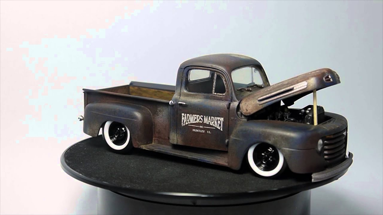 1950 Tow Truck >> Ford F100 1950 - YouTube
