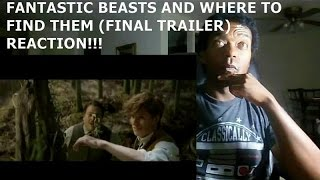 FANTASTIC BEASTS AND WHERE TO FIND THEM (FINAL TRAILER) - REACTION!!!!