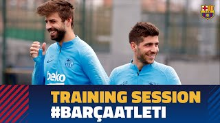 Last workout before LaLiga big clash against At. Madrid