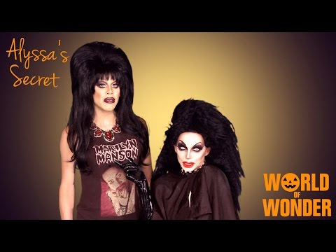 Alyssa Edwards' Secret - Halloween Special with Sharon Needles